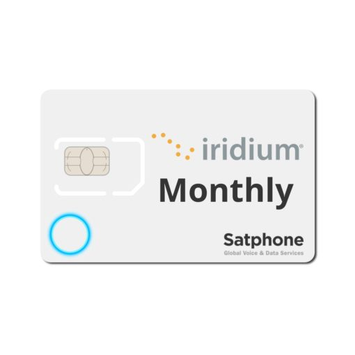 Iridium Monthly Plan SIM Card