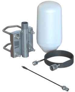 Iridium Passive Antenna Kit with Pole Mount