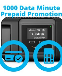 Iridium GO 1000 Data Minute Promotion