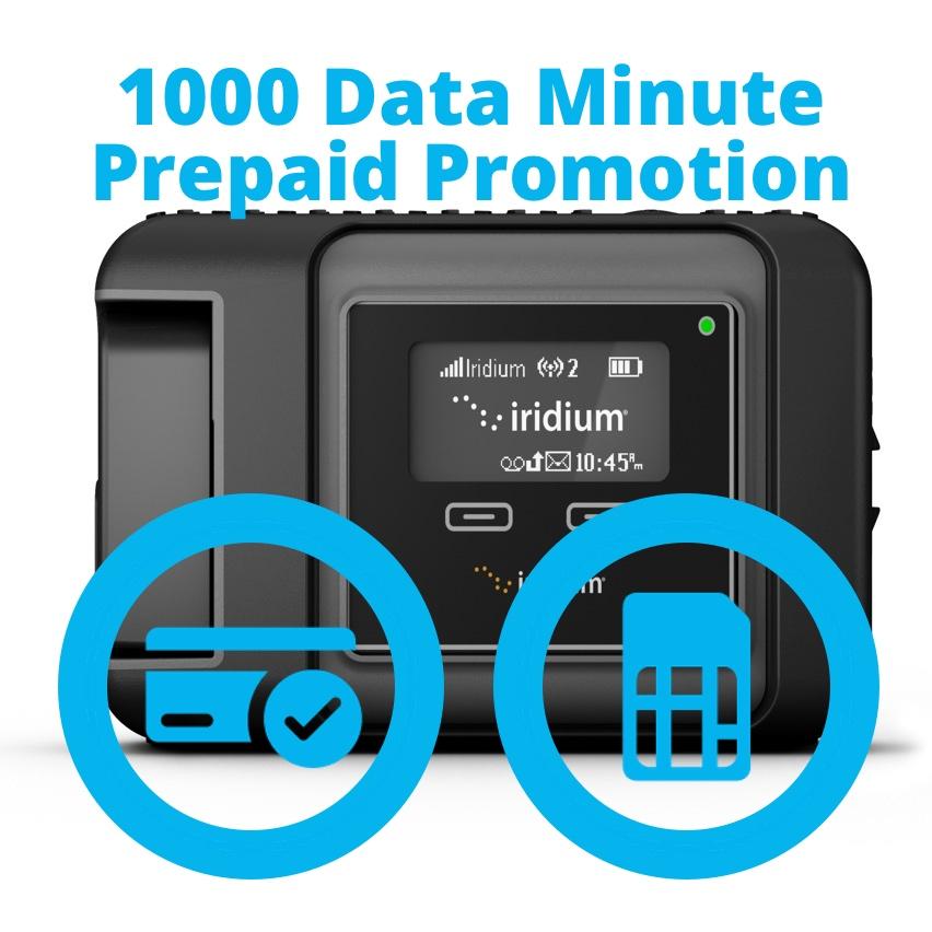 Iridium GO 1000 Data Minute Promotion