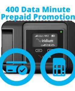 Iridium GO 400 Data Minute Promotion