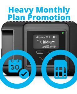 Iridium GO Heavy Monthly Plan Promotion