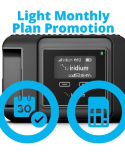 Iridium GO Light Monthly Plan Promotion