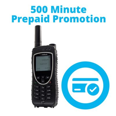 Iridium Extreme - 500 Minute Prepaid Promotion - 9575 Satellite Phone