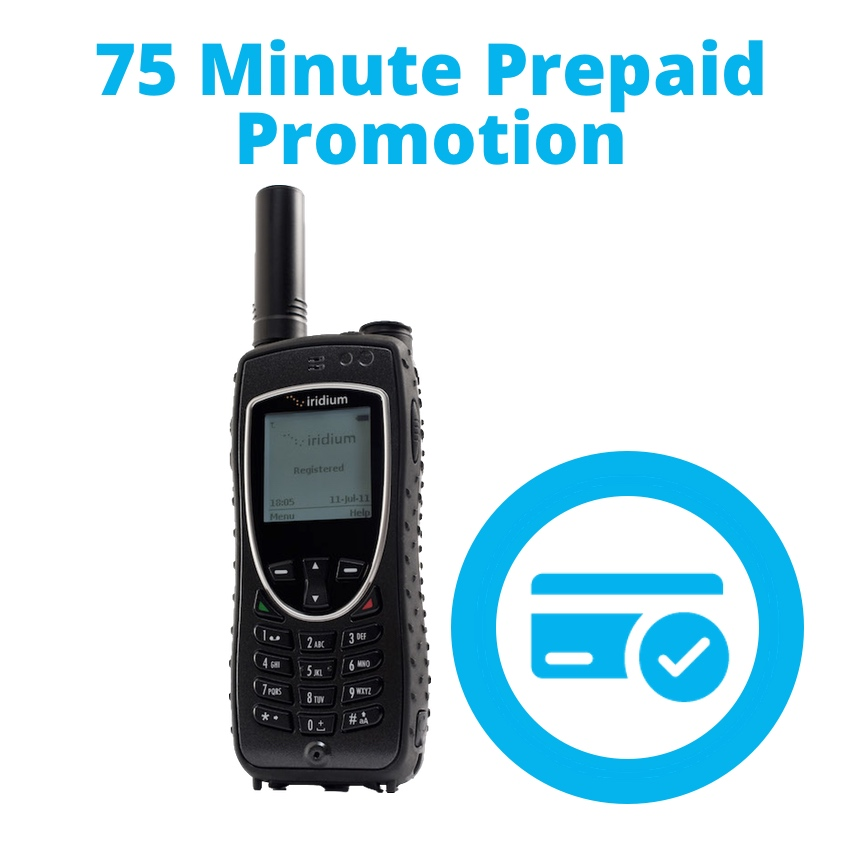 Iridium 9575 Extreme 75 Minute Promotion