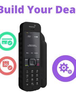 Inmarsat IsatPhone 2 with and Inmarsat Isatphone Handset Plan