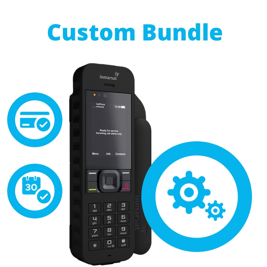 Inmarsat IsatPhone 2 Satellite Phone Custom Bundle